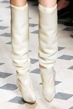 Balenciaga   Fall 2008 Ready-to-Wear Collection   Style.com Shoe Boots, Shoe Bag, Bootie Boots, Balenciaga, Nicolas Ghesquiere, Long Boots, Timeless Fashion, Designer Shoes, Bag Accessories
