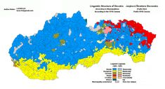 This is a linguistic map of Slovakia. It is made according to 1910 census data, showing language structure Bratislava, Census Data, Alternate History, Historical Maps, Family History, Language, World, Flags, Ethnic