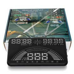"53.97$  Watch here - http://alipwv.worldwells.pw/go.php?t=32706108482 - ""5.8"""" Car Head Up Display GPS Speedometer HUD S7 Digital car speedometer OBD2 Vehicle Speeding Warning"""