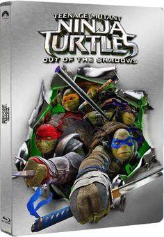 Teenage Mutant Ninja Turtles: Out of Shadows Bluray Steelbook.