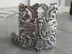 silver dragonfly cuff - i sooooo NEED/WANT this!!!
