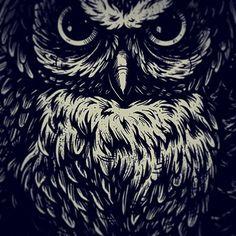 #sowa #puchatyzwierz #dużoszatana #unrestclothing #tshirt #design