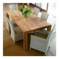 Crate Pacifica table $1199.  This is my next big purchase, I love it!