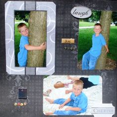 I can do a scrapbook page for any pictures that have been taken.....
