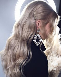 Best Wedding Hairstyles For Every Bride Style 2020/21 Formal Hairstyles For Long Hair, Hairstyles With Bangs, Braided Hairstyles, Glamorous Hairstyles, Bangs Hairstyle, Hairstyle Ideas, Pretty Hairstyles, Prom Hairstyles, Winter Hairstyles