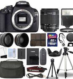 Canon 1200D DSLR + 18-55mm IS II 3 Lens Kit+ 16GB $359.99 reg. $629.95 http://wp.me/p3bv3h-8Md