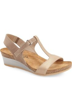 Naot 'Unicorn' T-Strap Sandal (Women) available at #Nordstrom
