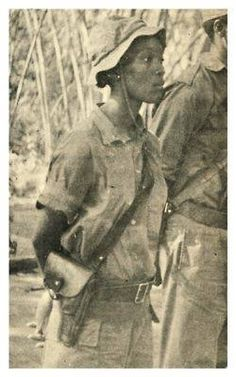 Josina Mutemba Machel (1945 - 1971) was a revolutionary Mozambican fighter for FRELIMO (Mozambican Liberation Front) who like thousands of women fought for independence for her country. In 1970, at the age of 24, Josina began to experience stomach pains and was eventually diagnosed with liver cancer. She died on April 7, a day celebrated as National Women's Day in Mozambique.