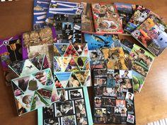 Boeken kaften, Book cover collage diy