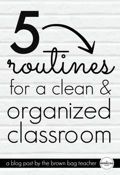 5 Tips for an Organized Classroom and a way to NEVER sharpen pencils again! Plus, a FREE classroom jobs application.