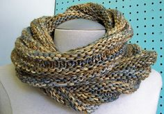 Long Missoni Mobius Cowl pattern by Haley Waxberg