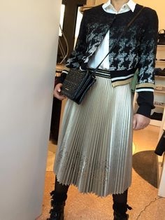 #BeatriceB #montanarini #Outfit #MadeInItaly #platinum #black #white
