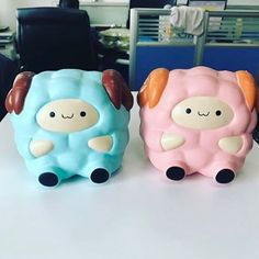 """3,046 Likes, 53 Comments - Singapore Squishy Store (@onlysweetcafe) on Instagram: """"Pink pop pop sheep coming this week :) Blue will release 2 weeks later~ accepting wholesales now wa…"""""""