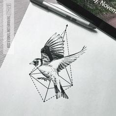 Custom dotwork Goldfinch tattoo design for Cynthia (IG @thecynthiact)