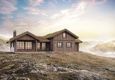 Rognli hems hytte1 Log Homes, Cottage, Cabin, House Styles, Home Decor, Design, Asylum, Timber Homes, Decoration Home