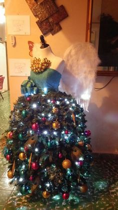 created by mirna v in puerto rico using the dress form christmas tree with wide - Christmas Tree Shop Greensboro Nc