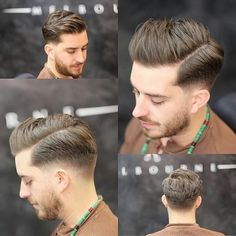 short haircuts for men New Men Hairstyles, Trendy Mens Haircuts, Medium Hair Cuts, Short Hair Cuts, Medium Hair Styles, Long Slicked Back Hair, Gents Hair Style, Hairstyle Names, Classic Haircut