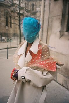 """CR Fashion Book, January Editorial """"A Paris Promenade for Haute Couture Spring/Summer All Maison Margiela Artisanal by John Galliano, Look 30 from Spring 2020 collection. Photographer Gadir Rajab, Model Yorgelis Marte, styled by Marie Cheiakh La Fashion Week, Fashion 2020, Daily Fashion, Spring Fashion, Fashion Beauty, Street Fashion, Couture Mode, Couture Fashion, Anastasia"""