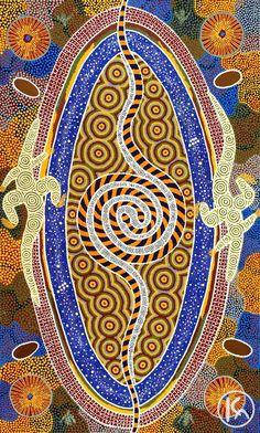 """Pirla Warna Warna"" by Malcolm Maloney Jagamarra 113cm x 219cm $16,000 http://www.aboriginalartstore.com.au/artists/malcolm-maloney-jagamarra/pirla-warna-warna/"