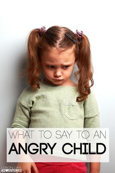 13 Helpful Phrases to Calm an Angry Child - Printable list! (Lemon Lime Adventures)
