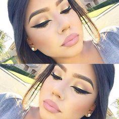 Her eyeliner >