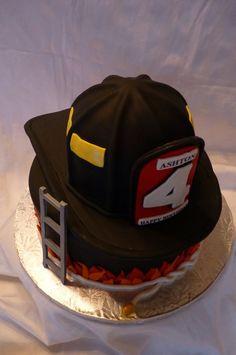 Firefight Retirement Cake