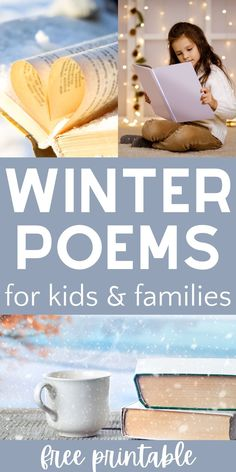 Winter Poems for Kids and a Calming Afternoon