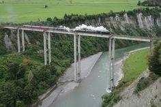 NZ Train enthusiasts insist Mangaweka bridge is NZ's most impressive- Trains, Bridge, Magazine, Warehouse, Magazines, Loft, Bro, Newspaper