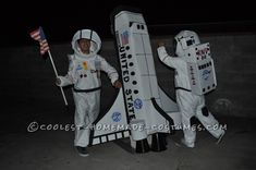 Cool Home Made Endeavor Astronauts Costumes... Coolest Homemade Costumes