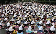 CreativeFuns: International Yoga Day  2015