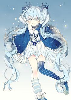 Vocaloid - Miku Hatsune (初音 ミク) -「❅」/「Lpip」のイラスト [pixiv]