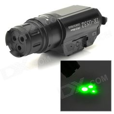 Three Point Green Laser Gun Aiming Sight w/ Pressure Switch Price: $155.40…