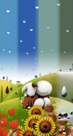by Doug Hyde Cute Images, Pretty Pictures, You Are My Rock, All The Feels, Hyde, Full Moon, Pastels, Art Work, Watercolour