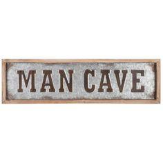 Room Ideas, Decor Ideas, Galvanized Metal, Metal Wall Decor, Wall Art Quotes, Metal Walls, Hobby Lobby, Rustic Farmhouse, Man Cave