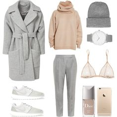 A fashion look from January 2015 featuring Acne Studios sweaters, FWSS and MaxMara pants. Browse and shop related looks.