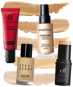 Shop the best moisturizing foundations to use on winter skin.
