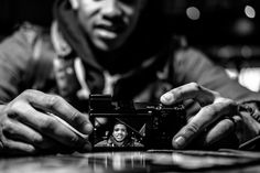 Caught in the act bnw  Fuji x-t1 Xf35mm f2 by christian_cross_photography