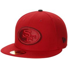 7799bbfdc San Francisco 49ers New Era Pop Flip 59FIFTY Fitted Hat - Scarlet Nfl  49ers