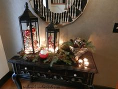 Christmas Decorating (like they do in the magazines) - Redhead Can Decorate