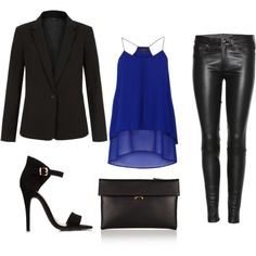 """black"" by tretrulienka on Polyvore"
