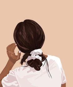 Illustration Mode, Portrait Illustration, Digital Illustration, Illustrations, Digital Art Girl, Cartoon Art Styles, Girl Cartoon, Portrait Art, Aesthetic Art