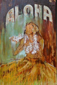 """Spirit of Aloha"" by Brigitte D'Annibale."
