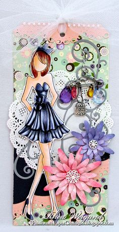 Passionate Paper Creations: Prima Mixed Media Doll Stamps