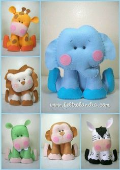 Pets sitting with Bichinhos sentados com moldes Pets sitting with . Pets sitting with Bichinhos sentados com moldes Pets sitting with molds - Baby Crafts, Cute Crafts, Felt Crafts, Diy And Crafts, Crafts For Kids, Craft Projects, Sewing Projects, Felt Patterns, Sewing Toys
