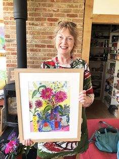 Flower Painting classes suitable for beginners. Painting Courses, Learn To Paint, Painting Frames, Gallery, Flowers, Learn Painting, Roof Rack, Learn To Draw, Royal Icing Flowers
