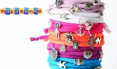 handmade bracelets find them at: https://www.facebook.com/mazdrunkajewels