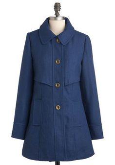Mon Courier Coat, #ModCloth