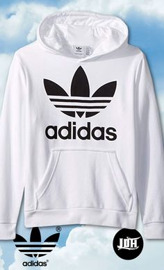 adidas Originals Boys' Big Trefoil Hoodie, white/black, M Nike Outfits, Adidas Outfit, Trendy Outfits, Hoodie Sweatshirts, Boys Hoodies, Adidas Originals, Stylish Hoodies, Hoodie Jacket, Swagg