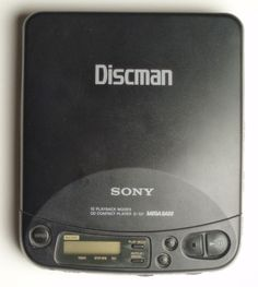 80s technology - The Discman!  There are days we want to sport one of these again.  On the bus, running on the gym's treadmill, having lunch.  Just so we can enjoy the reactions of those who see us wear one.  AmericasFootprints.com
