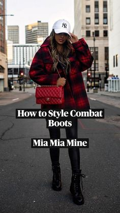 Business Casual Outfits, Stylish Outfits, Cute Outfits, Combat Boot Outfits, Combat Boots, Winter Outfits Women, Fall Outfits, Autumn Winter Fashion, Baddies Outfits